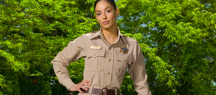 Danger Gal Friday: Deputy Sheriff Josefina Lupo