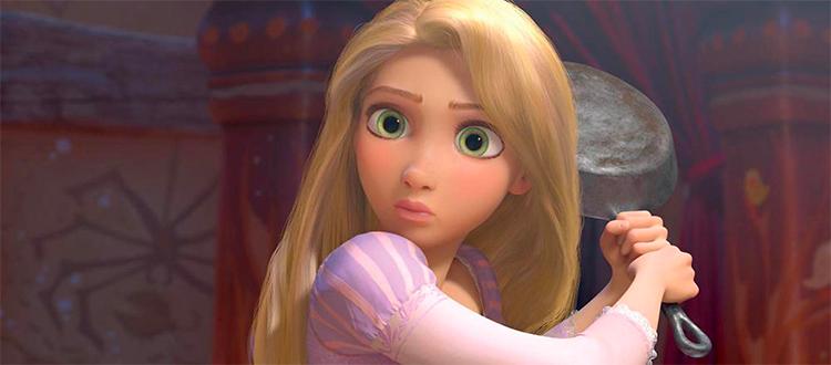 Danger Gal Friday: Rapunzel
