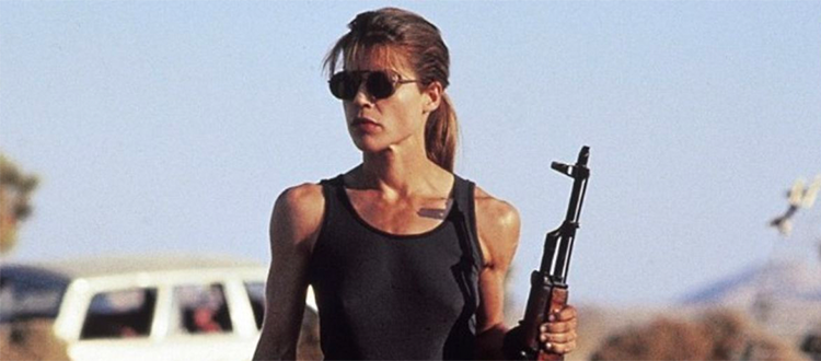 Danger Gal Friday: Sarah Connor