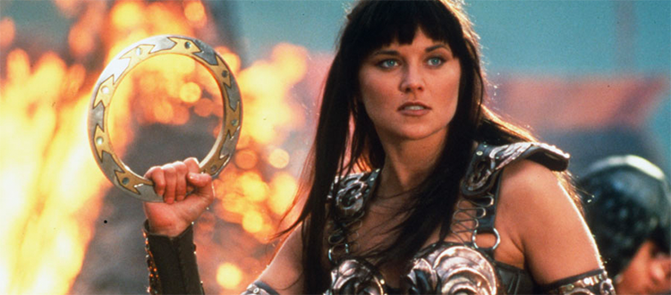 Danger Gal Friday: Xena